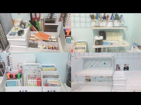 Đơn Giản Hoá Phòng Học Cùng Na/ Desk Decor/Desk Tour/Na Béo