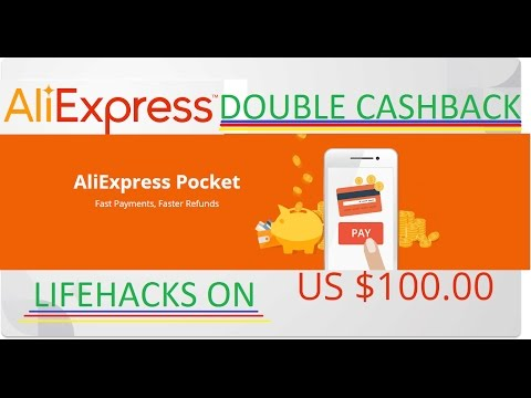 NEW life hacking !!! AliExpress Pocket, only on Aliexpress double cashback 21%