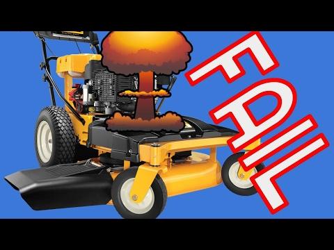 cub cadet 33 inch wide cut mower problems youtube rh youtube com