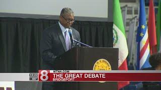 """Students take part in """"Great Debate"""" in Bridgeport"""