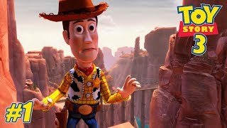 Toy Story 3 - Xbox 360 / Ps3 / Xbox One Playthrough Gameplay - Train Rescue PART 1