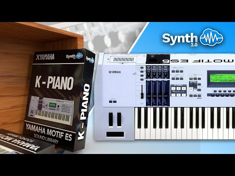 K piano sound banck on yamaha motif xf xs rack for Yamaha motif sounds download free