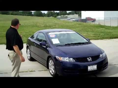 Certified used 2009 honda civic lx coupe for sale at honda for Certified used honda civic
