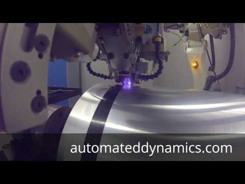 Automated Dynamics' Laser Heating System - 2.5 Meters/Second