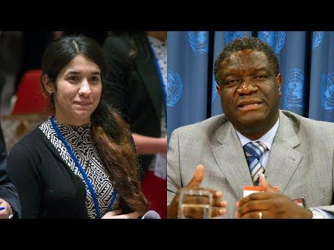 2018 Nobel Peace Prize - Nadia Murad U0026 Denis Mukwege