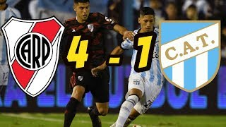River Plate vs Atletico Tucuman 4-1   Resumen y Goles   Copa de la Superliga HD