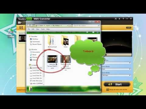 Free download Xinfire Free wmv converter to convert video to wmv