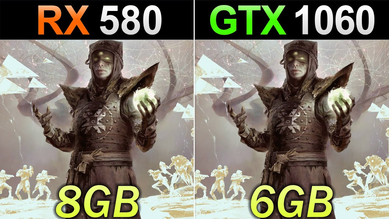 RX 580 Vs. GTX 1060 | How Much Performance Difference in 2020?