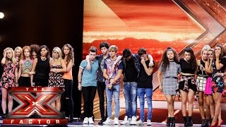 Overload, New Girl Group and Pow Pow Girls sing off | Boot Camp | The X Factor UK 2014