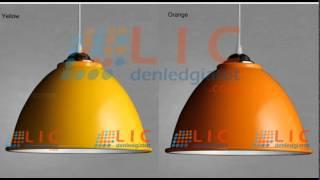 Chao Đèn Phi 30 Nhiều Màu Sắc Tại Lic Lighting - Đèn LED Giá Tốt.com