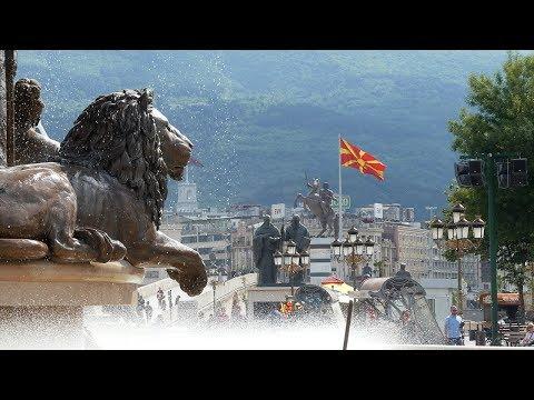 Skopje Macedonia - Strangest City in Europe?
