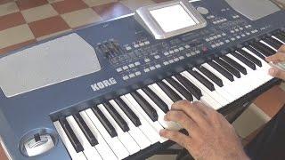 Abhi na jao chod kar-Instrumental-Keyboard-Cover