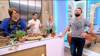 """Răzvan și Dani, mima în bucătărie: """"Ești în ceață de când ești răcit. Nu mai ghicești nimic"""""""