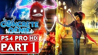 CONCRETE GENIE Gameplay Walkthrough Part 1 [1080p HD PS4 PRO] - No Commentary