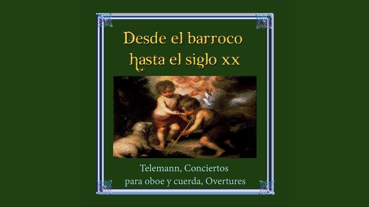 Concerto for Oboe and Violin in C Minor, TWV 52. c 1: I. Adagio - Allegro