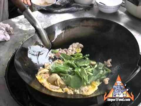Thai Street Vendor Pad Siew Moo