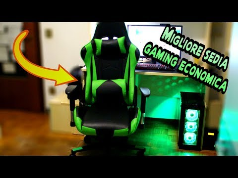 Sedia Gaming Economica.Recensione Della Migliore Sedia Da Gaming Economica