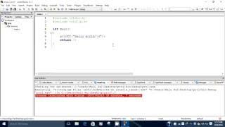 Wie das erstellen von C-Projekten in Code-Blöcken