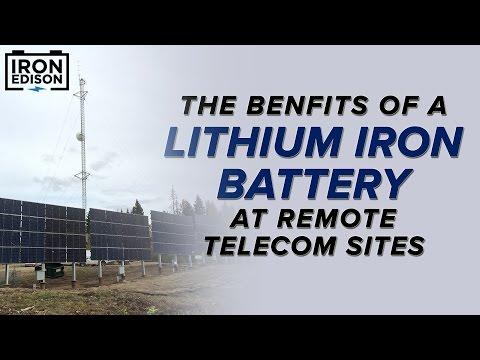 System Spotlight: Saddle Hills Telecom Lithium Solar Battery