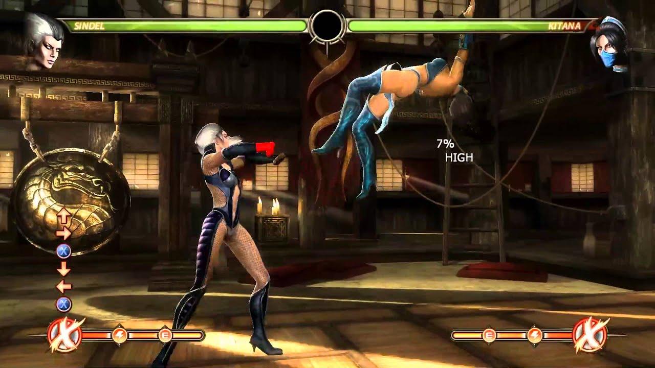 Mortal Kombat 9 - Sindel Ending - YouTube