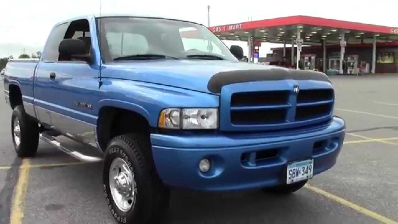 2001 Dodge Ram 2500 Quad Cab 4wd 2g140350c Youtube