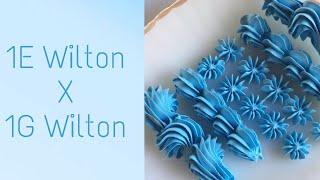 Demonstração De Bicos: 1e Wilton X 1g Wilton