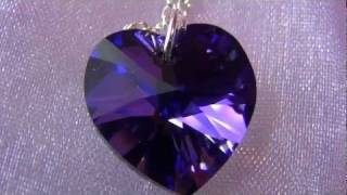 Castle On A Cloud Collection: Purple Heart Crystal Heliotrope Thumbnail