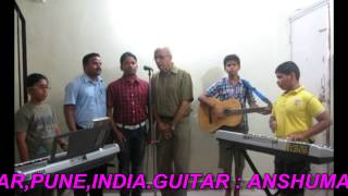 Bar bar dekho hajar bar dekho by Students of JAGGANATH PORE MUSIC INSTITUTE,VIMANNAGAR,PUNE,INDIA
