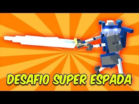 DESAFIO DA SUPER ESPADA | Clone Drone in the Danger Zone
