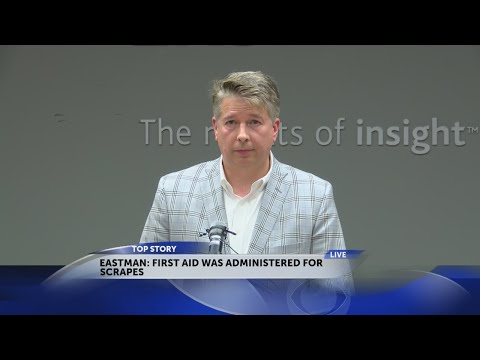 Eastman officials hold press conference on morning explosion at plant
