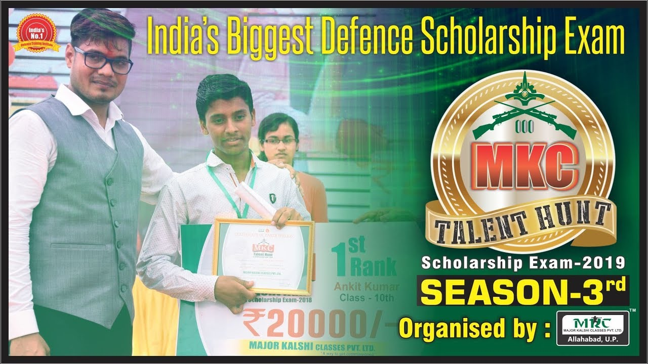 Talent hunt and scholarship program for various defence exams youtube talent hunt and scholarship program for various defence exams altavistaventures Choice Image