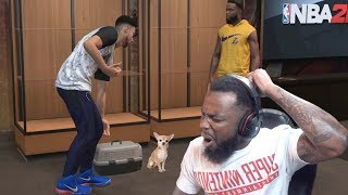 Ben Simmons Dropped Off His Dog To Me! NBA 2K19 MyCareer Ep. 39