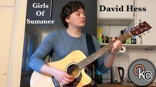 Girls of Summer - David Hess (Acoustic Cover)