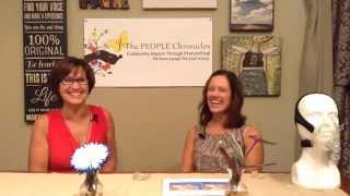 Dr. Tammy Balatgek talks with Jo Painter