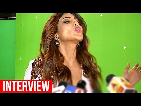 Shilpa Shetty SPITS On Reporters During A Funny Interview