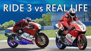 Ride 3 XBox One PS4 PC Review Realism Vs Real Life Comparasons