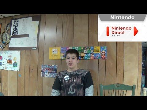 JoeDan54 Bonus Reacts! #9 - Nintendo Direct 3.3.2016