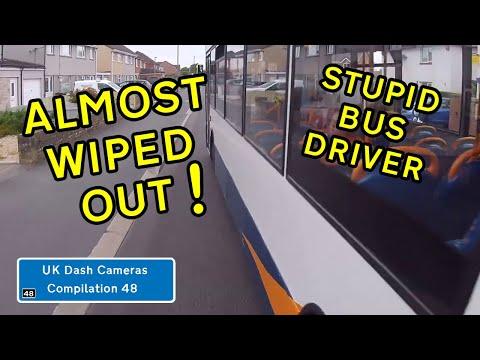 UK Dash Cameras - Compilation 48 - 2019 Bad Drivers, Crashes + Close Calls