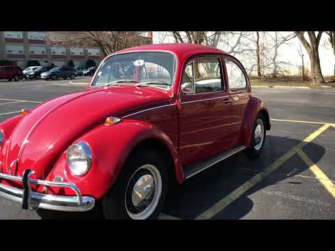 [SOLD] 1967 Volkswagen Beetle For Sale