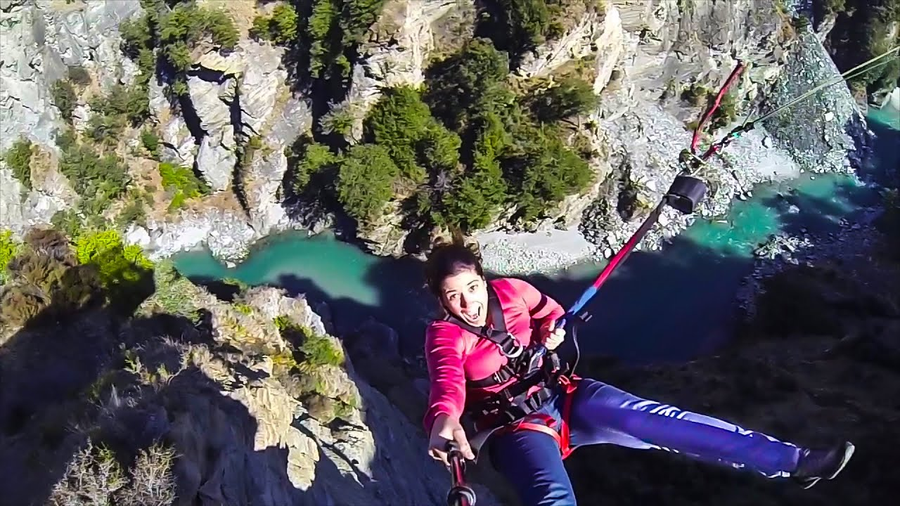 World 39 s highest cliff jump new zealand living a kiwi life ep 36 youtube - Highest cliff dive ever ...