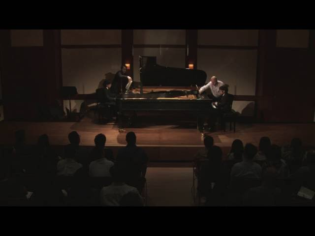 Mozart: Sonata in D major for Two Pianos, K  448: I. Allegro con spirito