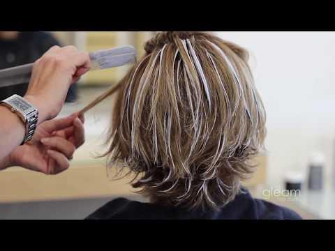 Balayage Highlight Short Hairstyle