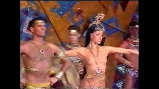 Lido Paris Bravissimo 1990 Aztecs Scene (TV S-VHS Recording)(, 2016-06-18T07:10:09.000Z)