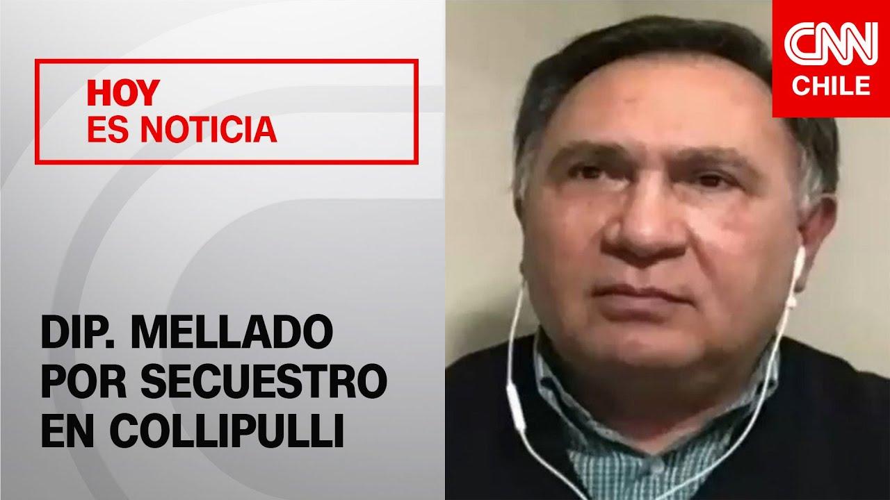 """Dip. Mellado y hechos de violencia en Collipulli: """"Le pido al Gobierno que empodere a las policías"""""""