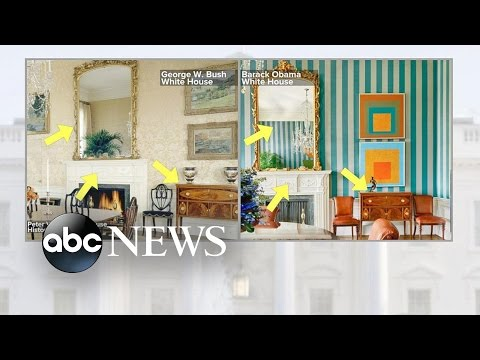 Inside the Obamas Living Quarters