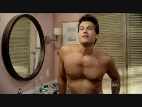Cougar Town  Nick Zano shirtless