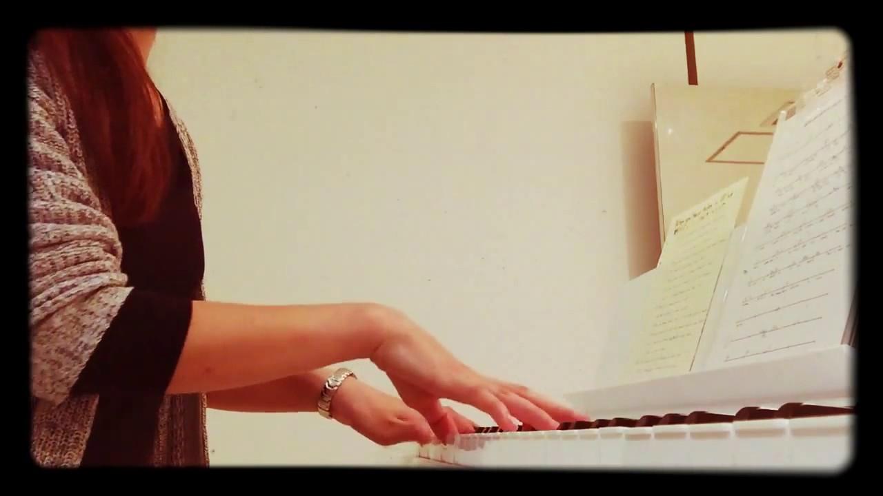 When Your Heart Makes a Wish|クリスタル・ウィッシュ・ジャーニー|東京ディズニーシー15周年テーマソング|ピアノ弾き語り