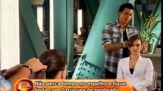 Eliana - Rodrigo Cintra ensina a fazer penteados práticos