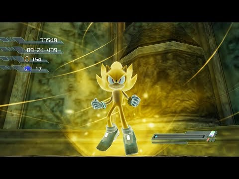 Sonic The Hedgehog Project 06 Gems Locations & Super Sonic