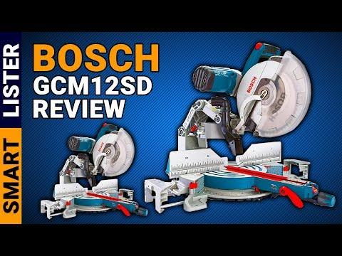 Bosch GCM12SD Review (2019) | Bosch GCM12SD 12-Inch Dual Bevel Glide Miter Saw